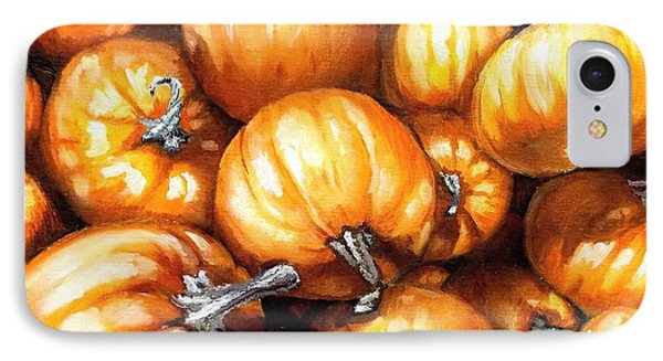 Pumpkin Palooza IPhone Case by Shana Rowe Jackson