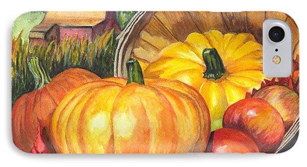 Pumpkin Pickin Phone Case by Carol Wisniewski