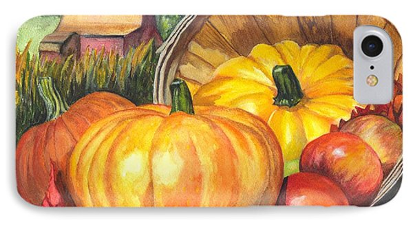 Pumpkin Pickin IPhone Case by Carol Wisniewski