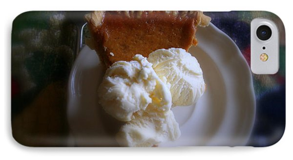 Pumpkin Pie A' La Mode IPhone Case by Kay Novy