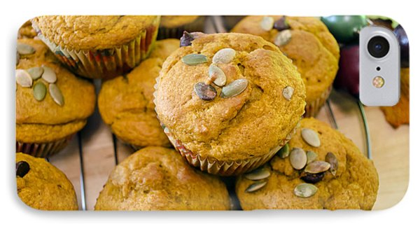 IPhone Case featuring the photograph Pumpkin Spice Muffins For Fall by Maria Janicki