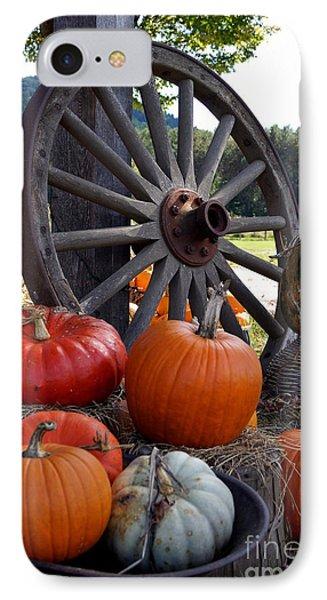 Pumpkin Wheel Phone Case by Kerri Mortenson
