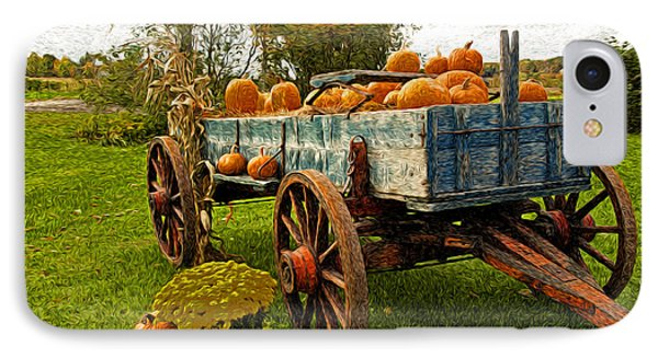IPhone Case featuring the photograph Pumpkins by Bill Howard