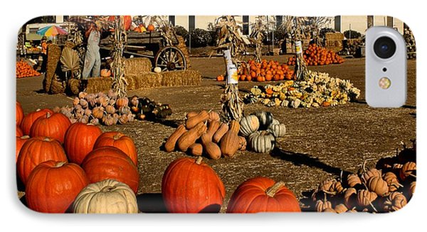 IPhone Case featuring the photograph Pumpkins by Michael Gordon