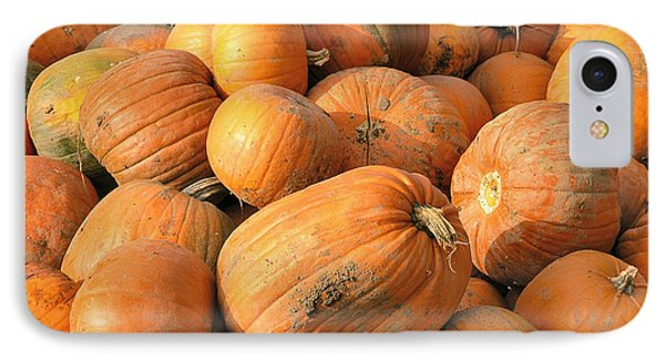 Pumpkins IPhone Case by Ron Harpham
