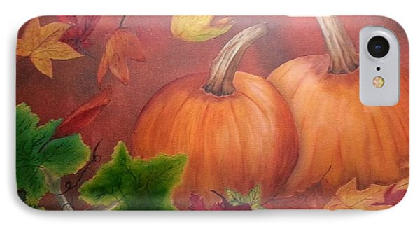 Pumpkins IPhone Case by Valorie Cross