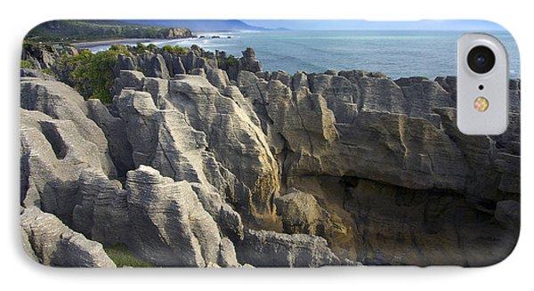 IPhone Case featuring the photograph Punakaiki Pancake Rocks #2 by Stuart Litoff