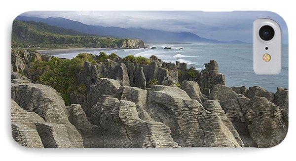 IPhone Case featuring the photograph Punakaiki Pancake Rocks by Stuart Litoff
