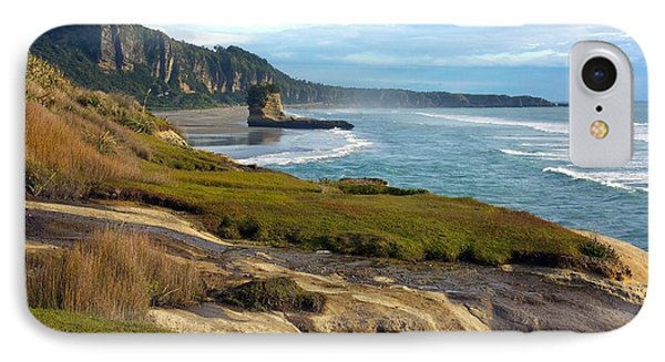IPhone Case featuring the photograph Punakaiki Truman Track by Stuart Litoff