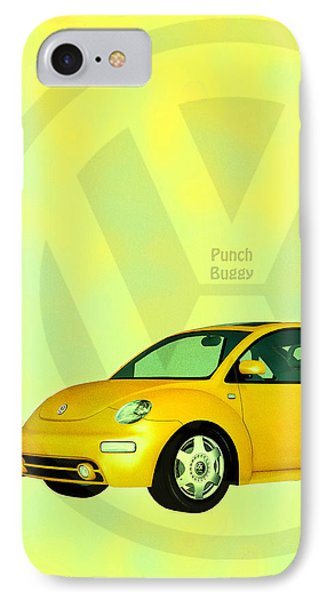 Punch Buggy Phone Case by Bob Orsillo