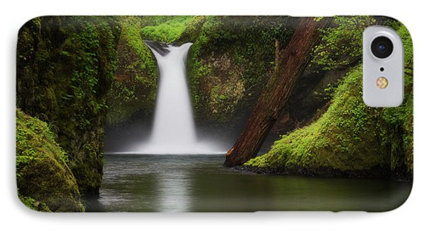 Punchbowl Falls, Columbia River Gorge IPhone Case by Robert Postma