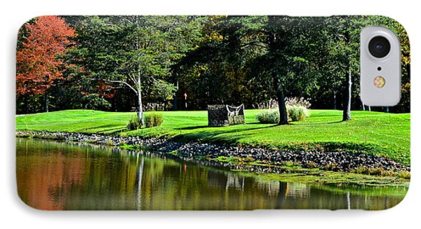 Punderson Golf Course Phone Case by Frozen in Time Fine Art Photography