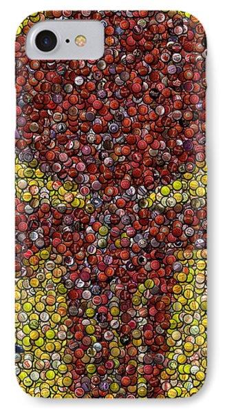 Punisher Bottle Cap Mosaic IPhone Case