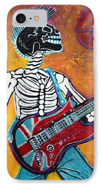 Punks Not Dead Phone Case by Laura Barbosa
