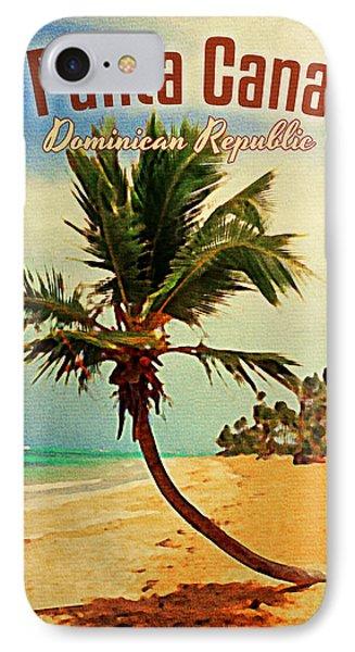 Punta Cana Dominican Republic IPhone Case