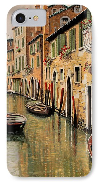 Punte Rosse A Venezia IPhone Case by Guido Borelli