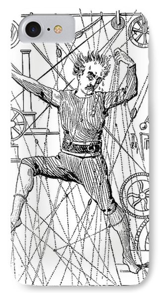 Puppeteer Thomas Holden IPhone Case by Granger