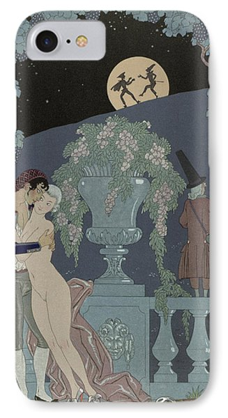 Puppets IPhone Case by Georges Barbier