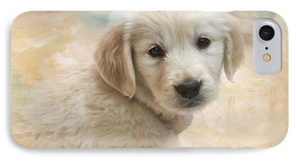 Puppy Eyes Phone Case by Jayne Carney