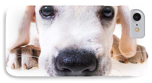 Puppy Face Phone Case by Diane Diederich