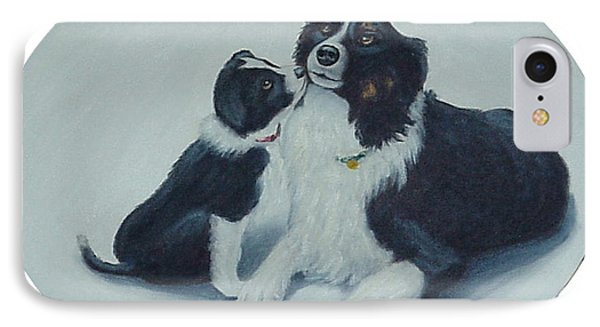 Puppy Kisses IPhone Case by Fran Brooks