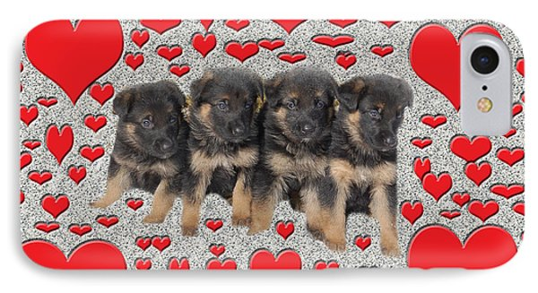 Puppy Love Phone Case by Aimee L Maher Photography and Art Visit ALMGallerydotcom