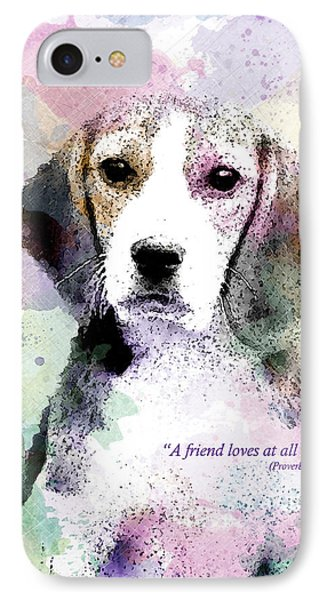 Puppy Love IPhone Case by Gary Bodnar