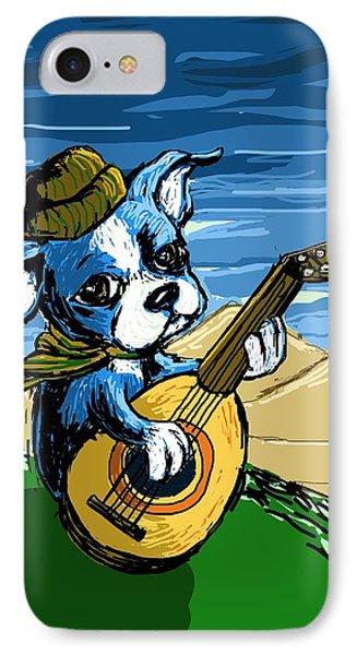 Puppy Serenade IPhone Case