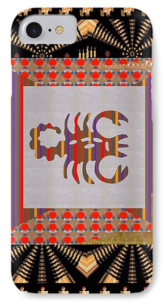 Pure Decorations Zodiac Symbol Art IPhone Case by Navin Joshi