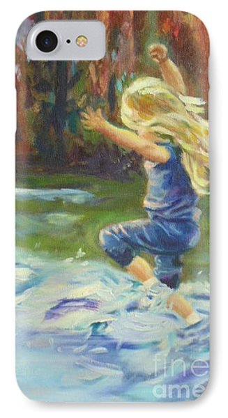 IPhone Case featuring the painting Pure Delight by Marcia Dutton