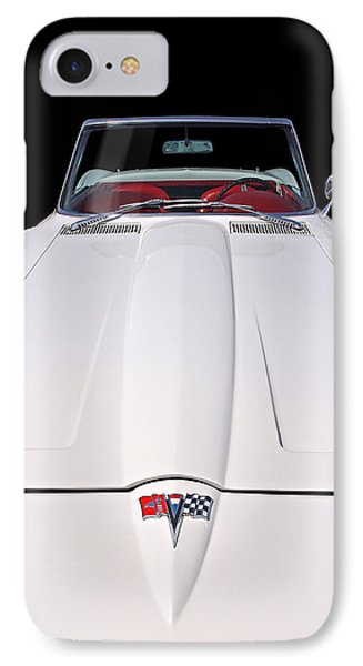 Pure Enjoyment - 1964 Corvette Stingray IPhone Case