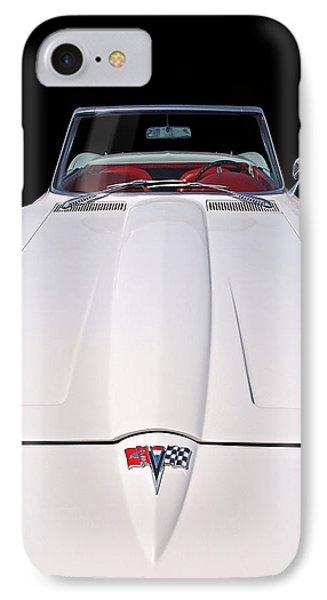 Pure Enjoyment - 1964 Corvette Stingray IPhone Case by Gill Billington