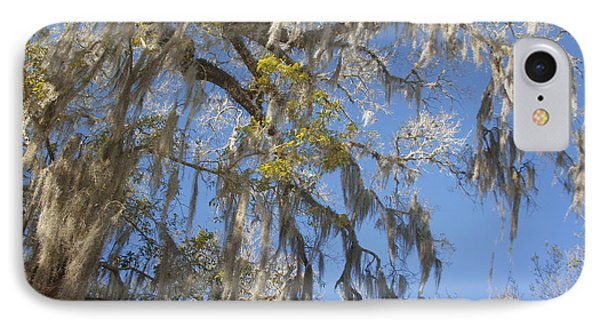 Pure Florida - Spanish Moss Phone Case by Christine Till