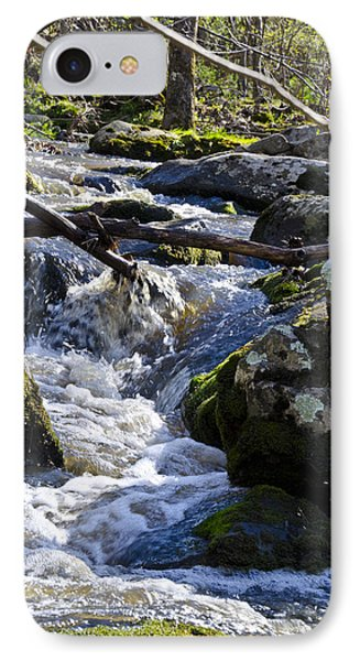 Pure Mountain Stream Phone Case by Bill Cannon