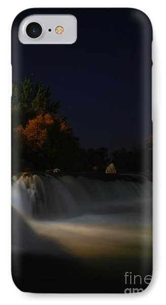 Pure Spirits Of The Waterfall IPhone Case by Erhan OZBIYIK