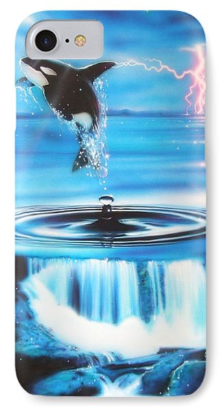 Ocean - ' Pure Water Systems ' IPhone Case