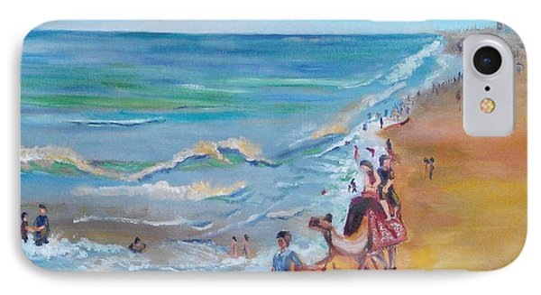 Puri Beach India IPhone Case by Geeta Biswas
