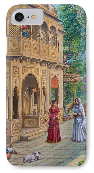 Purnamasi In House Of Kirtida Phone Case by Vrindavan Das