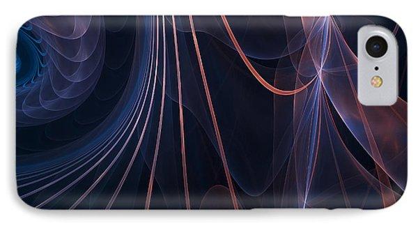 Purple Ablaze IPhone Case by Lourry Legarde