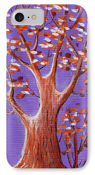 Purple And Orange IPhone Case