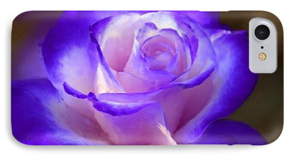 Purple And Pink Rose Phone Case by Bruce Nutting