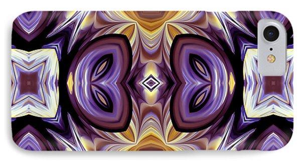 Purple Boudoir IPhone Case by Georgiana Romanovna