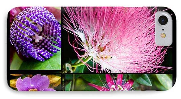 Purple Bouquet IPhone Case by Melinda Ledsome