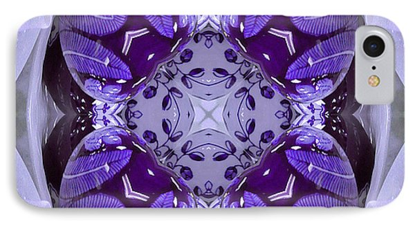 Purple Ceramic Works IPhone Case by Barbara R MacPhail