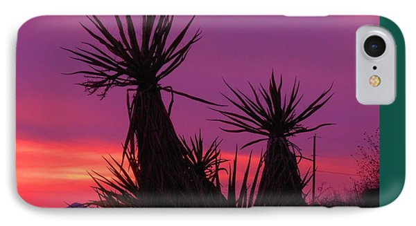 Purple Desert IPhone Case
