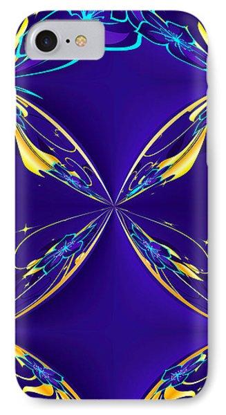 Purple Diamonds Phone Case by Liane Wright