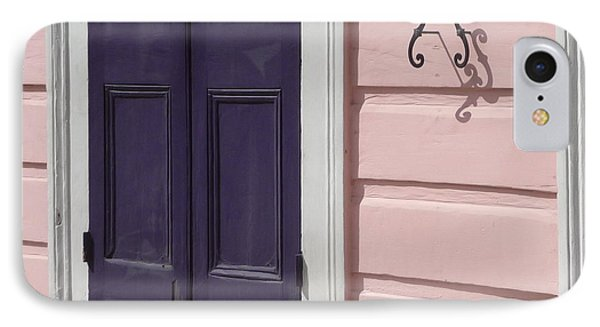 IPhone Case featuring the photograph Purple Door by Valerie Reeves