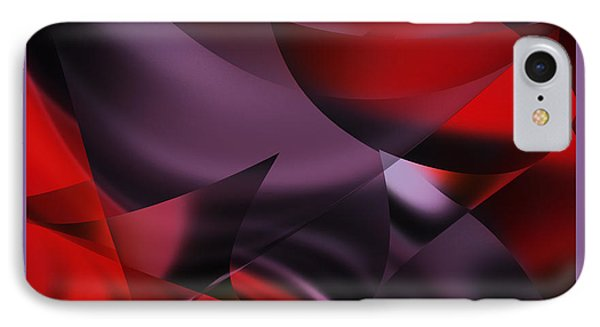 Purple Energy  IPhone Case by Diane Dugas