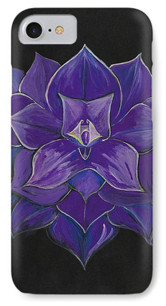 Purple Flower - Painting IPhone Case