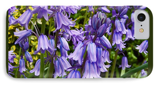 IPhone Case featuring the photograph Purple Flowers by Gena Weiser